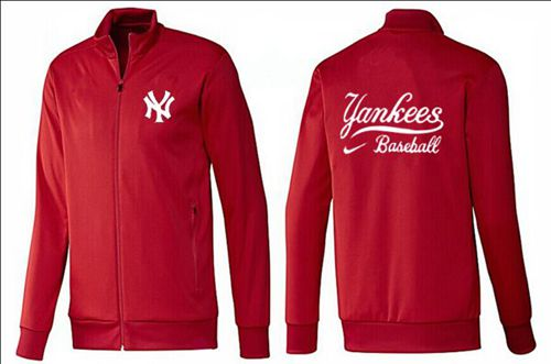 MLB New York Yankees Zip Jacket Red