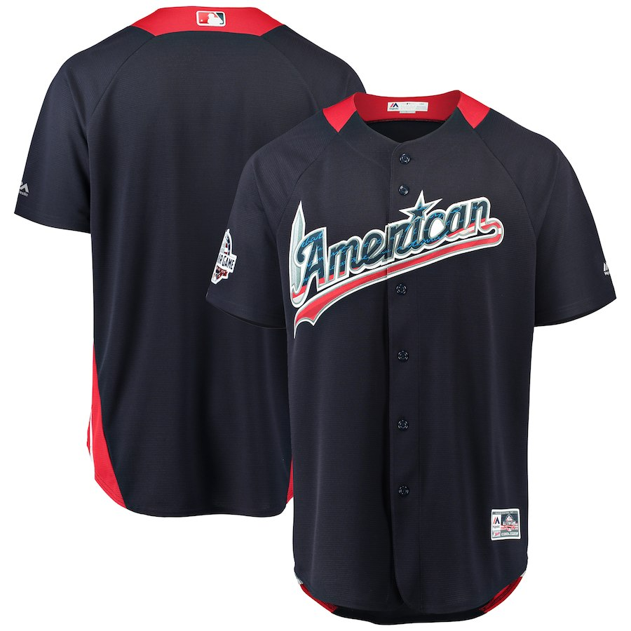 Men's American League Navy 2018 MLB All-Star Game Home Run Derby Team Jersey
