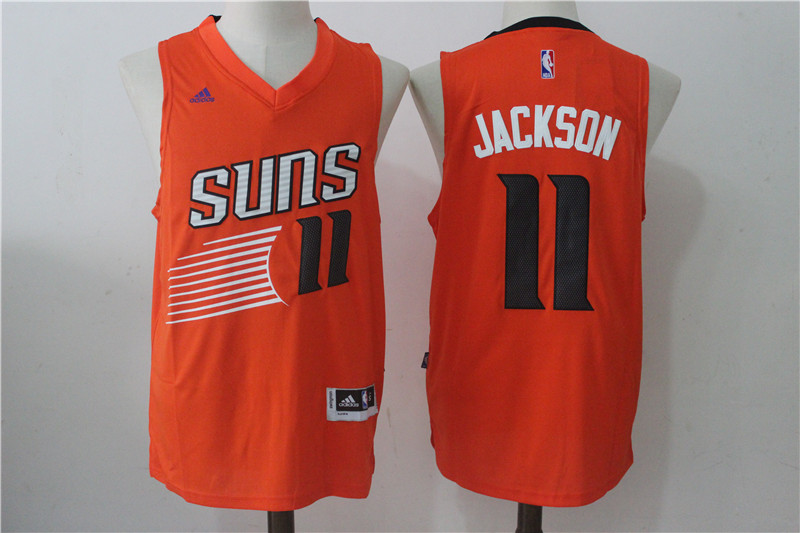 Men's Phoenix Suns #11 Josh Jackson Orange Stitched NBA Jersey