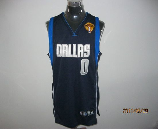 Mavericks 2011 Finals Patch #0 Shawn Marion Blue Stitched NBA Jersey