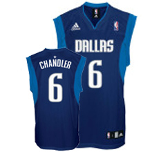 Mavericks Revolution 30 #6 Tyson Chandler Dark Blue Stitched NBA Jersey