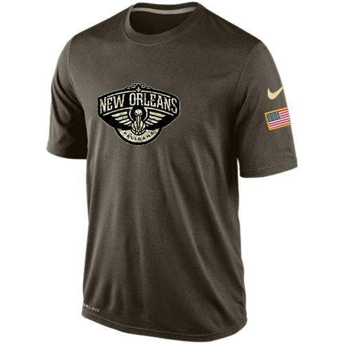 Men's New Orleans Pelicans Salute To Service Nike Dri-FIT T-Shirt