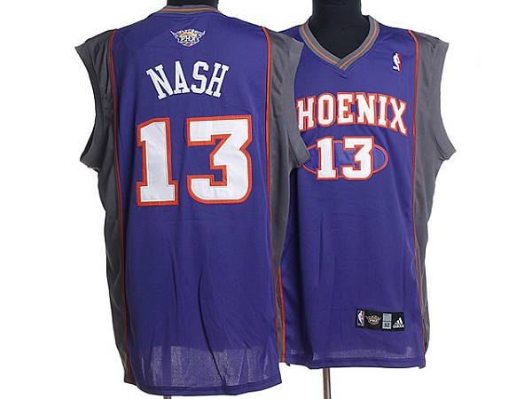Suns #13 Steve Nash Stitched Purple NBA Jersey