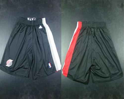 Portland Trail Blazers Black Shorts