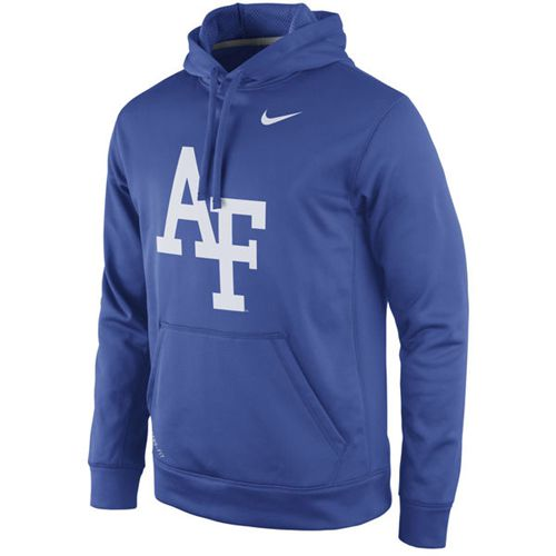 Air Force Falcons Nike Practice Performance Hoodie Royal
