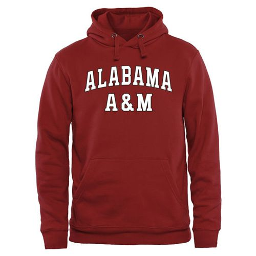 Alabama A&M Bulldogs Everyday Pullover Hoodie Crimson