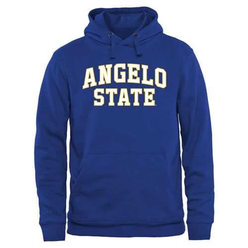 Angelo State Rams Everyday Pullover Hoodie Royal