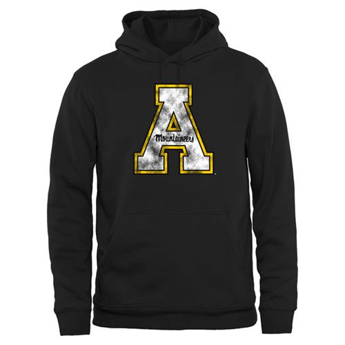 Appalachian State Mountaineers Big & Tall Classic Primary Pullover Hoodie Black