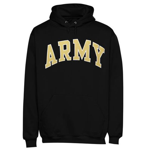 Army Black Knights Bold Arch Hoodie Black