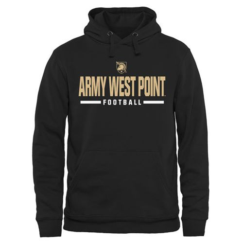 Army Black Knights Custom Sport Pullover Hoodie Black