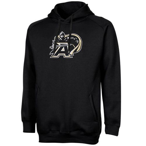 Army Black Knights Training Day Fleece Pullover Hoodie Black
