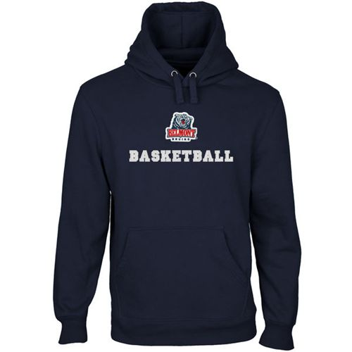 Belmont Bruins Custom Sport Logo Applique Pullover Hoodie Navy Blue