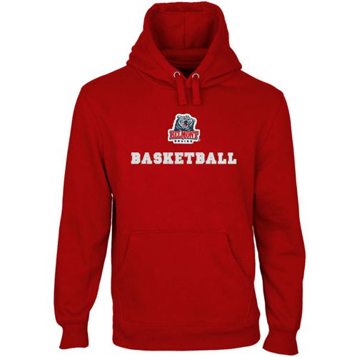 Belmont Bruins Custom Sport Logo Applique Pullover Hoodie Red