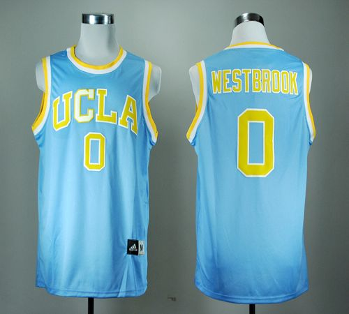 Bruins #0 Russell Westbrook Blue Basketball Stitched NCAA Jersey