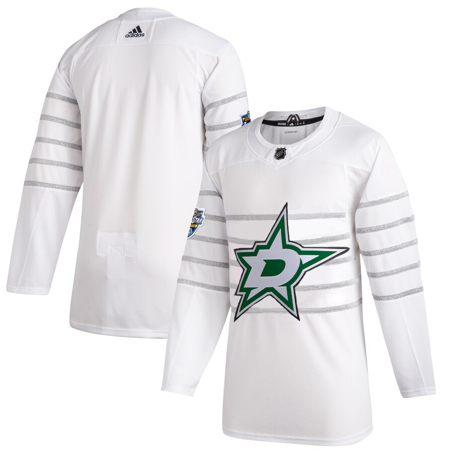 Men's Dallas Stars Adidas White 2020 NHL All-Star Game Authentic Jersey