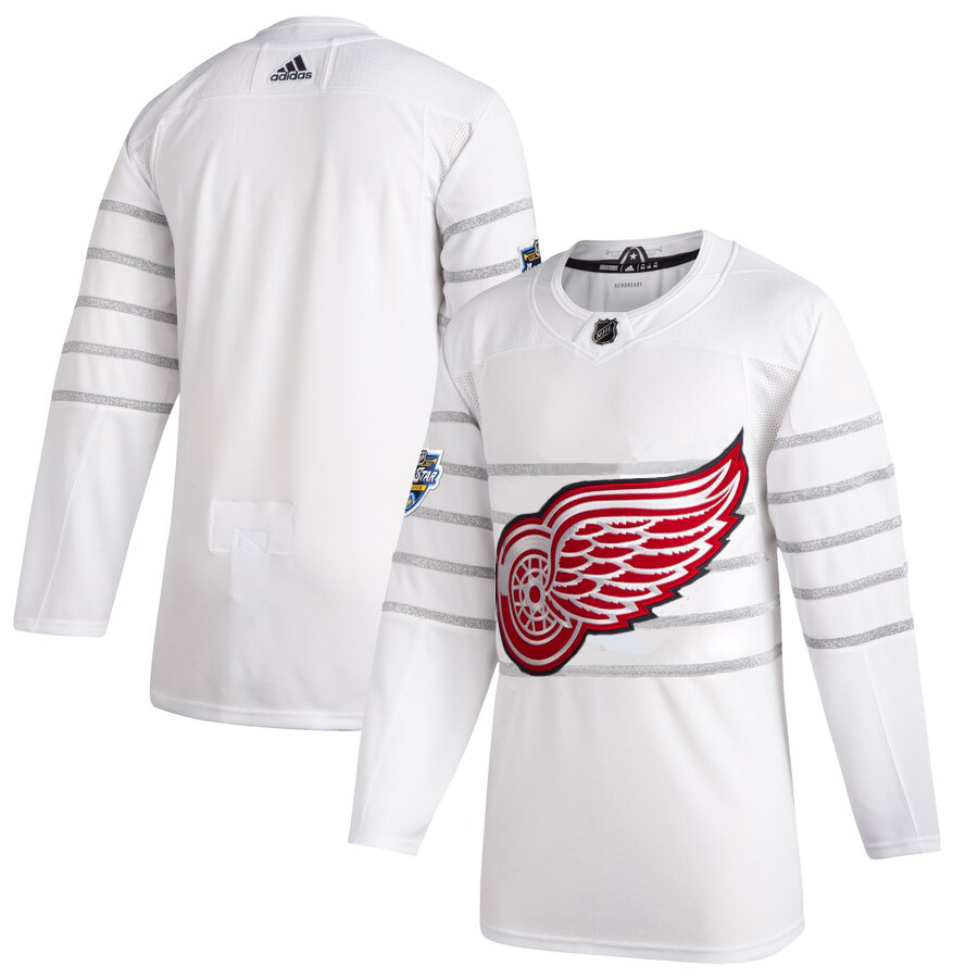 Men's Detroit Red Wings Adidas White 2020 NHL All-Star Game Authentic Jersey