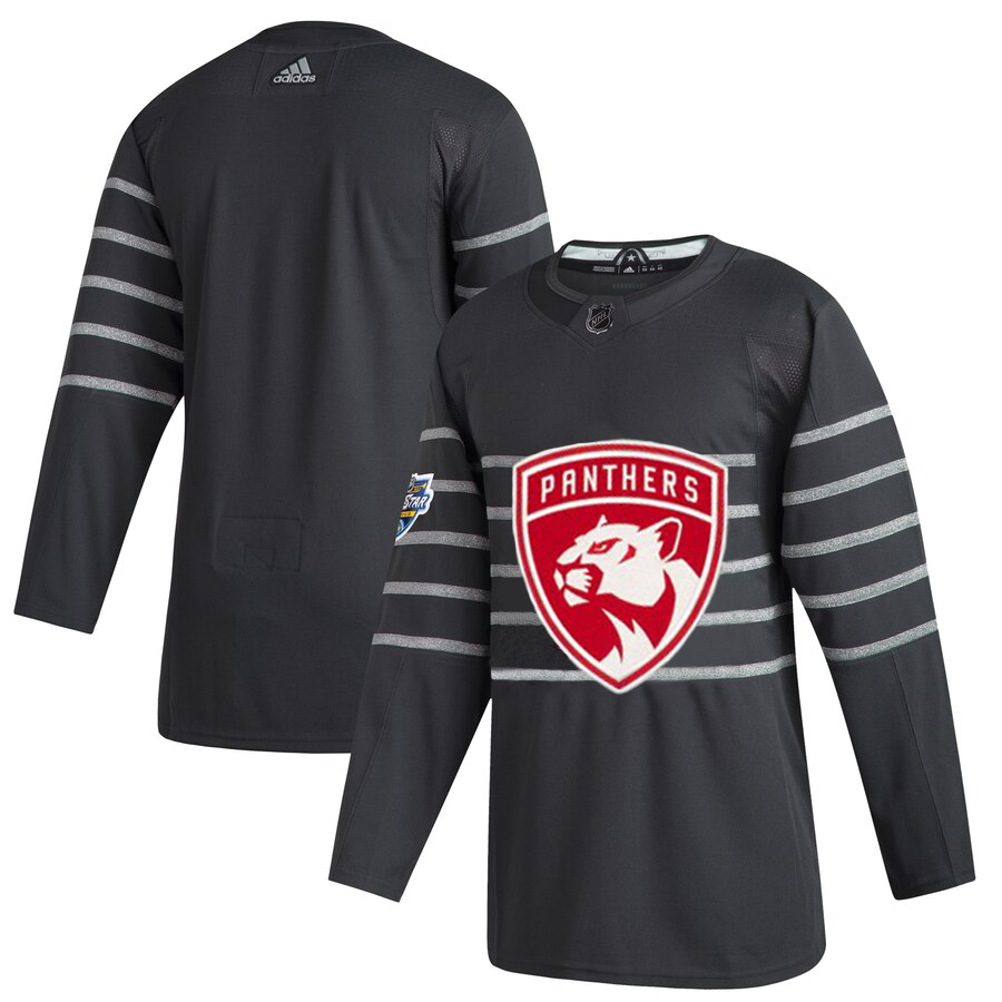 Men's Florida Panthers Adidas Gray 2020 NHL All-Star Game Authentic Jersey