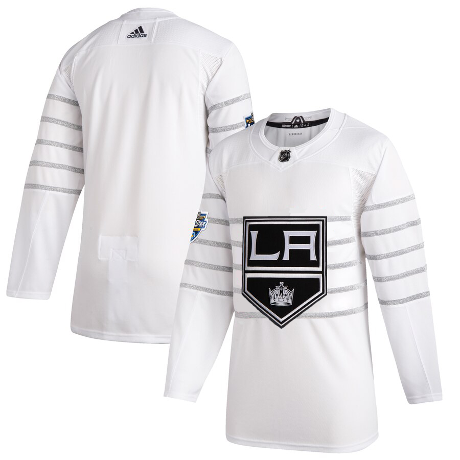 Men's Los Angeles Kings Adidas White 2020 NHL All-Star Game Authentic Jersey
