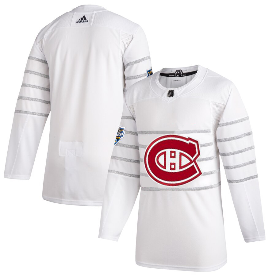 Men's Montreal Canadiens Adidas White 2020 NHL All-Star Game Authentic Jersey