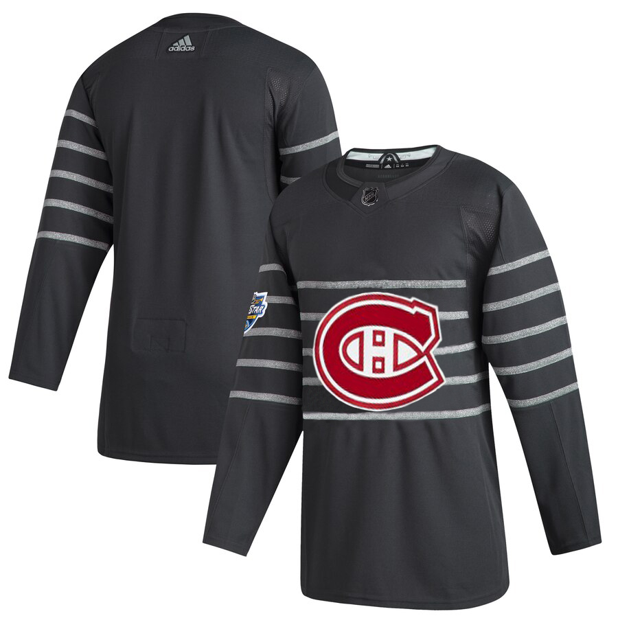 Men's Montreal Canadiens Adidas Gray 2020 NHL All-Star Game Authentic Jersey