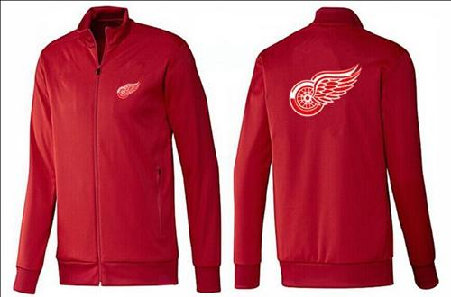 NHL Detroit Red Wings Zip Jackets Red