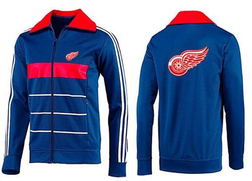 NHL Detroit Red Wings Zip Jackets Blue-3