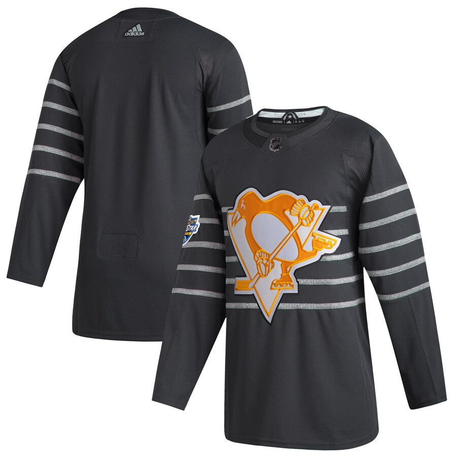 Men's Pittsburgh Penguins Adidas Gray 2020 NHL All-Star Game Authentic Jersey