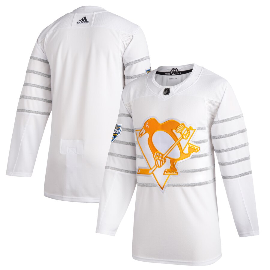 Men's Pittsburgh Penguins Adidas White 2020 NHL All-Star Game Authentic Jersey