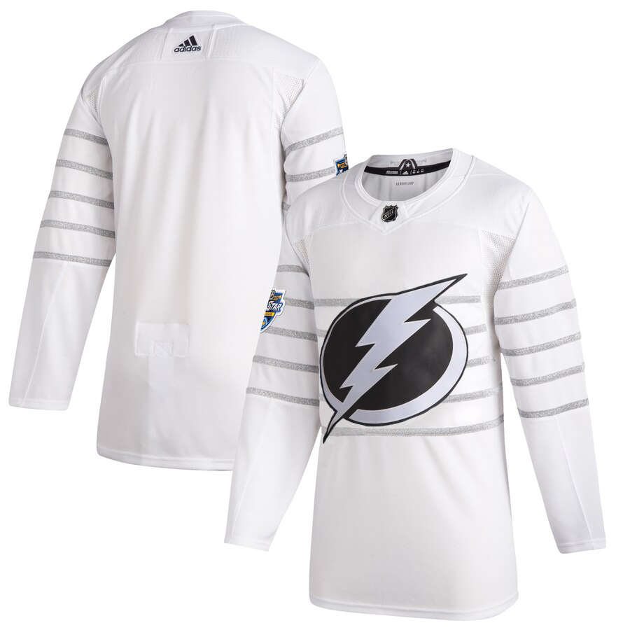 Men's Tampa Bay Lightning Adidas White 2020 NHL All-Star Game Authentic Jersey