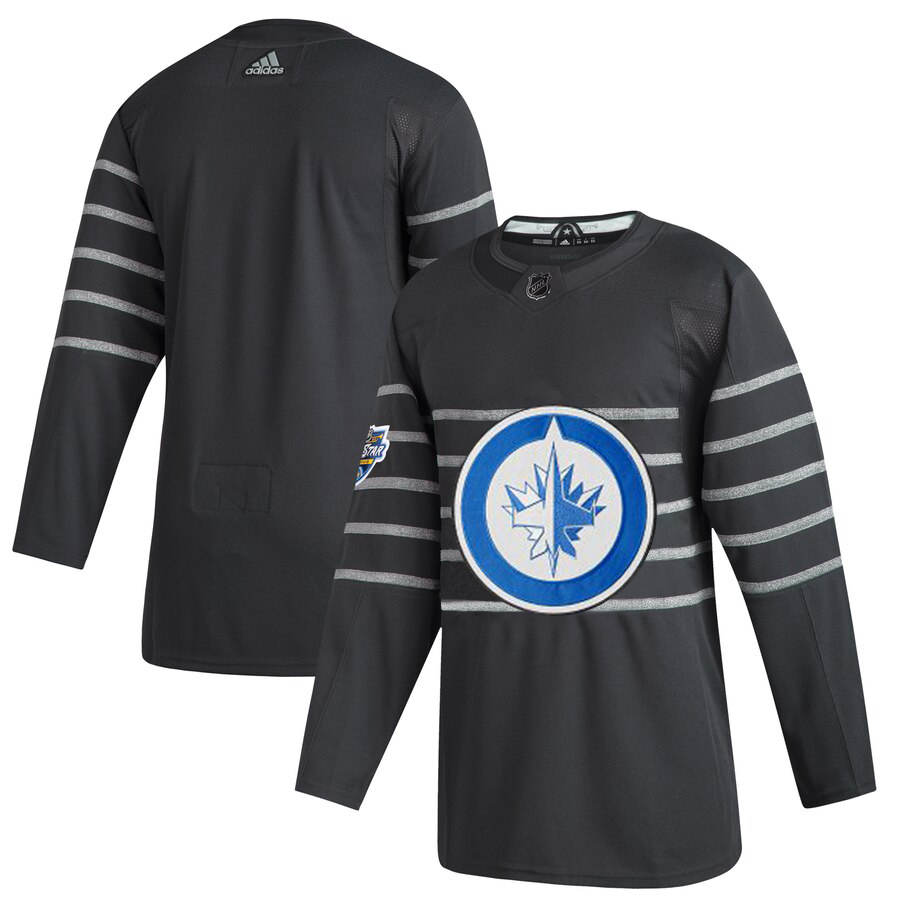 Men's Winnipeg Jets Adidas Gray 2020 NHL All-Star Game Authentic Jersey