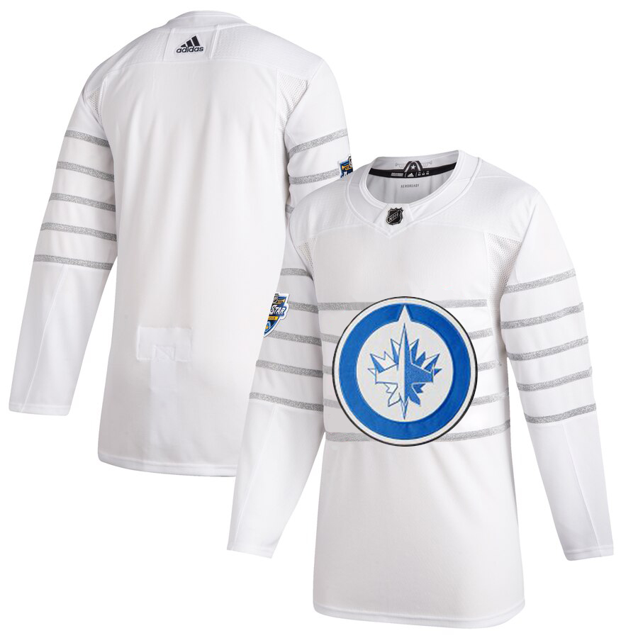 Men's Winnipeg Jets Adidas White 2020 NHL All-Star Game Authentic Jersey