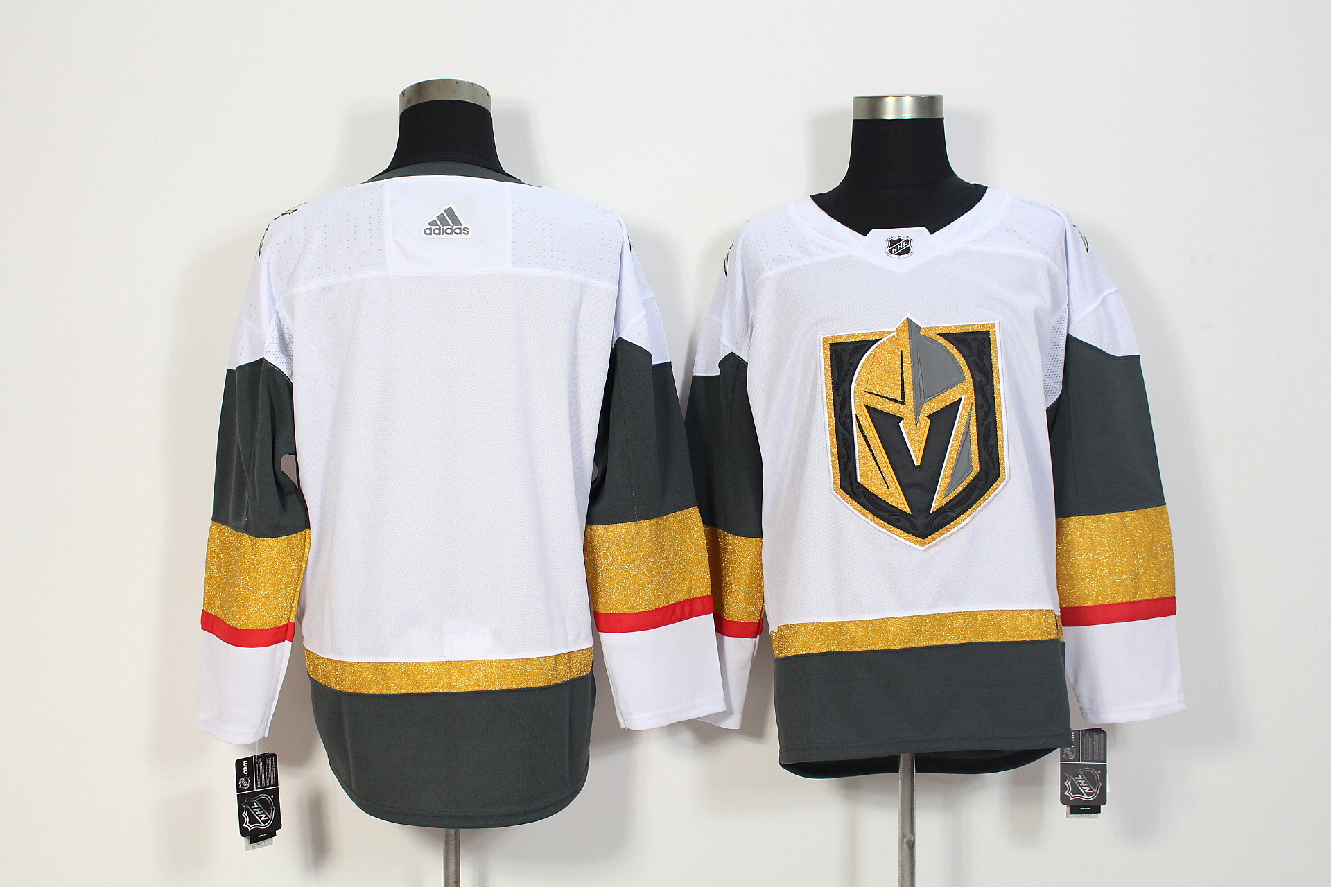 Men's Adidas Vegas Golden Knights White Stitched NHL Jersey