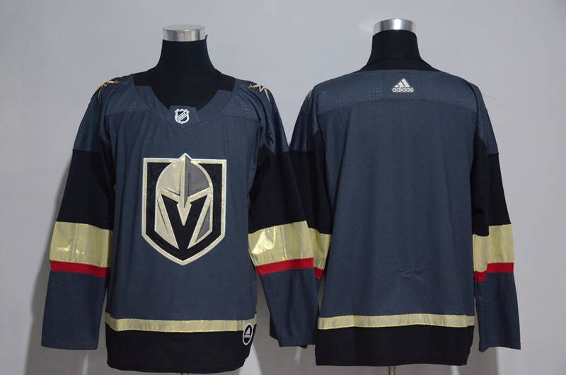 Men's Vegas Golden Knights Gray Adidas Stitched NHL Jersey
