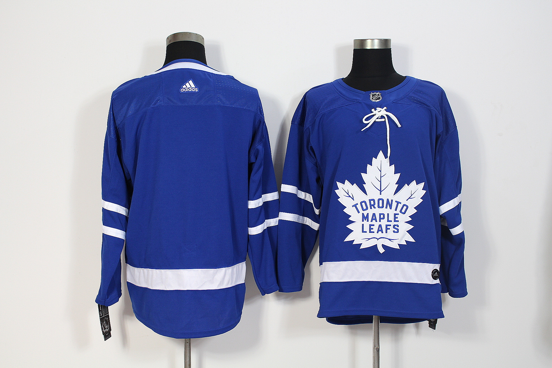 Men's Adidas Toronto Maple Leafs Blue Stitched NHL Jersey