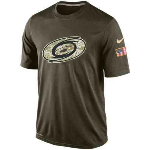 Men's Carolina Hurricanes Salute To Service Nike Dri-FIT T-Shirt