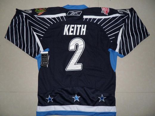 Blackhawks #2 Duncan Keith 2011 All Star Stitched Dark Blue NHL Jersey