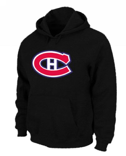 NHL Montreal Canadiens Big & Tall Logo Pullover Hoodie Black
