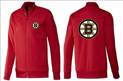 NHL Boston Bruins Zip Jackets Red