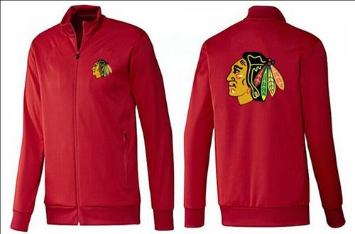 NHL Chicago Blackhawks Zip Jackets Red
