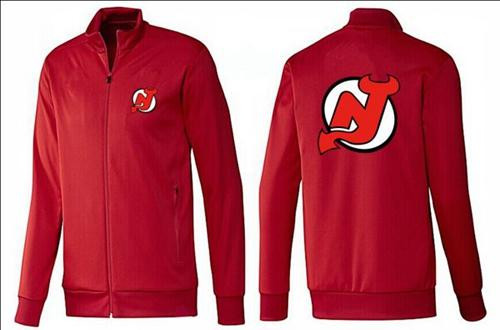 NHL New Jersey Devils Zip Jackets Red