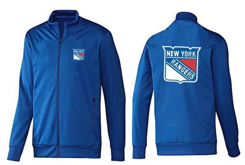 NHL New York Rangers Zip Jackets Blue-2