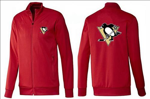 NHL Pittsburgh Penguins Zip Jackets Red
