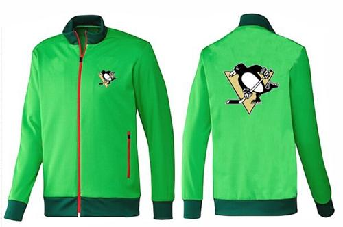 NHL Pittsburgh Penguins Zip Jackets Green-1
