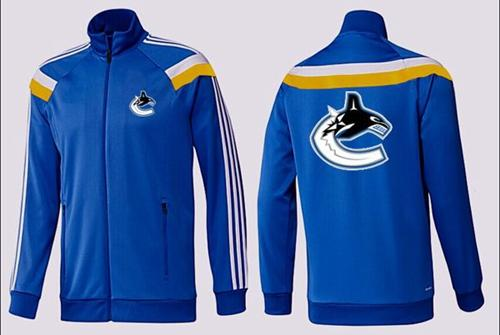 NHL Vancouver Canucks Zip Jackets Blue-3