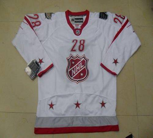 Flyers #28 Claude Giroux 2012 All Star White Stitched NHL Jersey