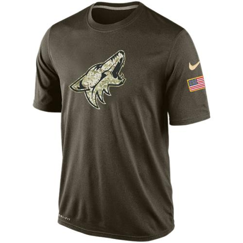 Men's Phoenix Coyotes Salute To Service Nike Dri-FIT T-Shirt
