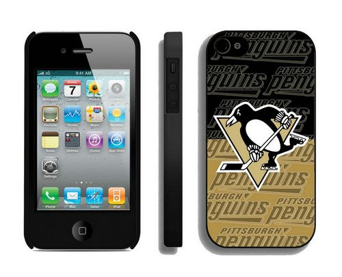 NHL Pittsburgh Penguins IPhone 4/4S Case_2