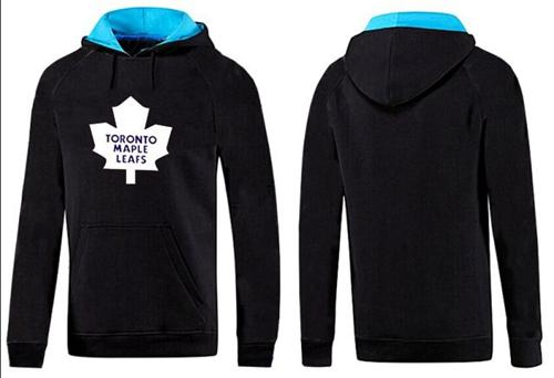 Toronto Maple Leafs Pullover Hoodie Black & Blue