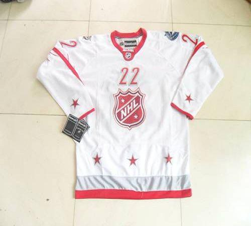 Canucks #22 Daniel Sedin 2012 All Star White Stitched NHL Jersey