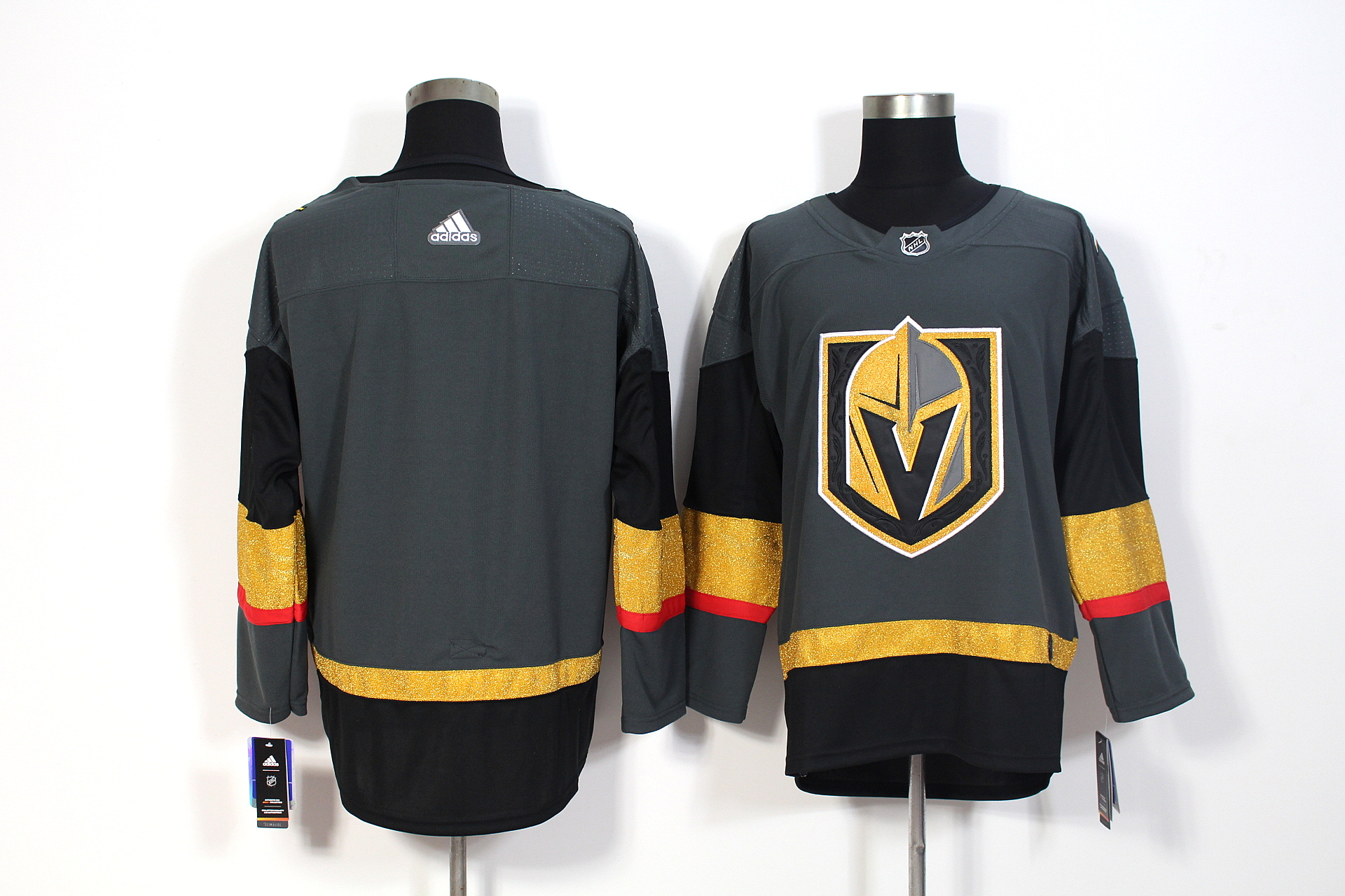 Men's Adidas Vegas Golden Knights Gray Stitched NHL Jersey